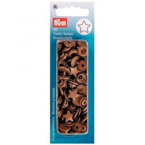 Pressions Prym Etoiles Color Snaps Or